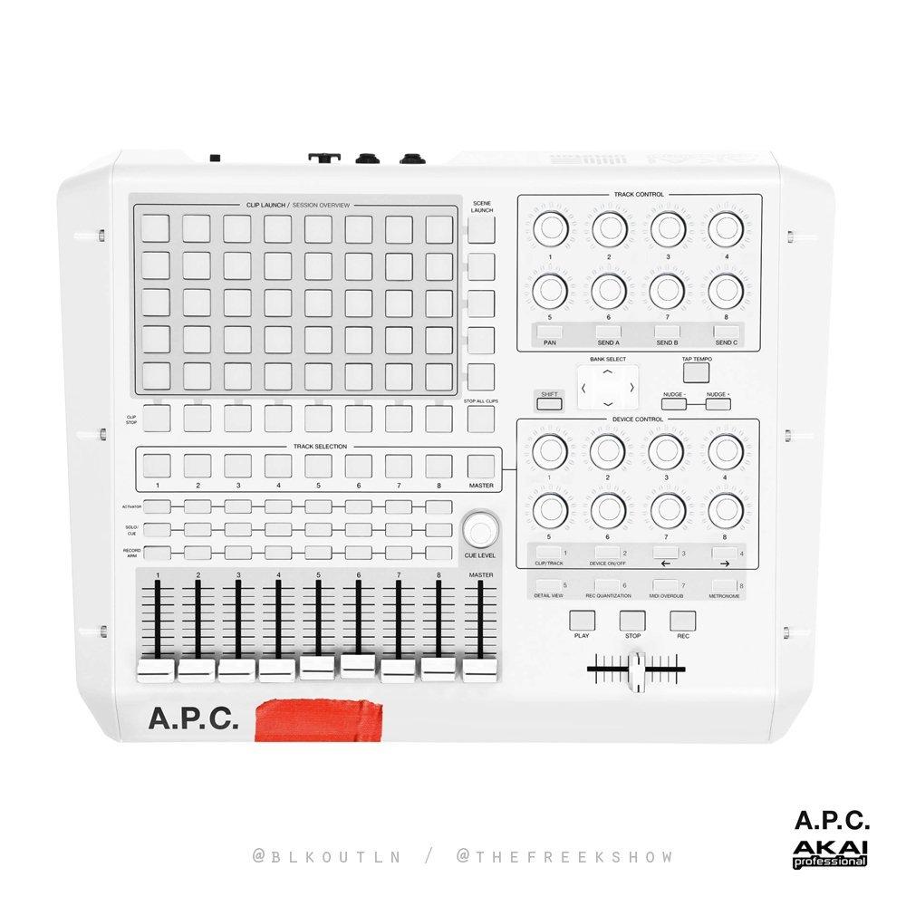 A.P.C x Akai