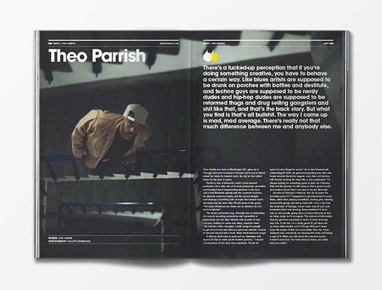 Theo Parrish interview with Bonafide magazine