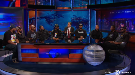 Wu-Tang Clan reunited on The Daily Show