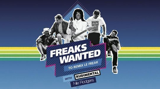Remix Le Freak with Nile Rodgers