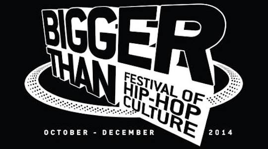 Recommended event: Bigger Than Festival
