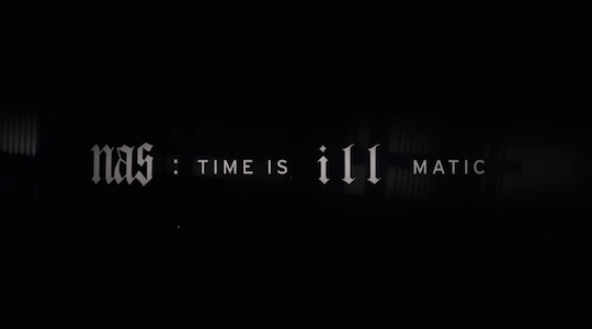 Peek at behind the scenes footage from Nas: Time is Illmatic
