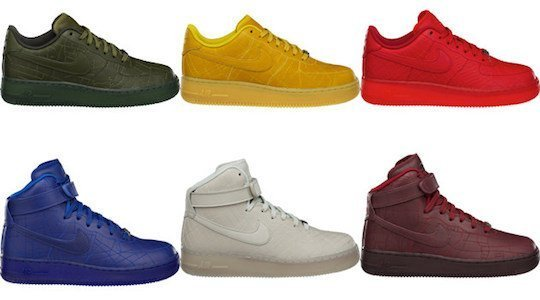 Details of new Nike Air Force 1 'City Pack' released