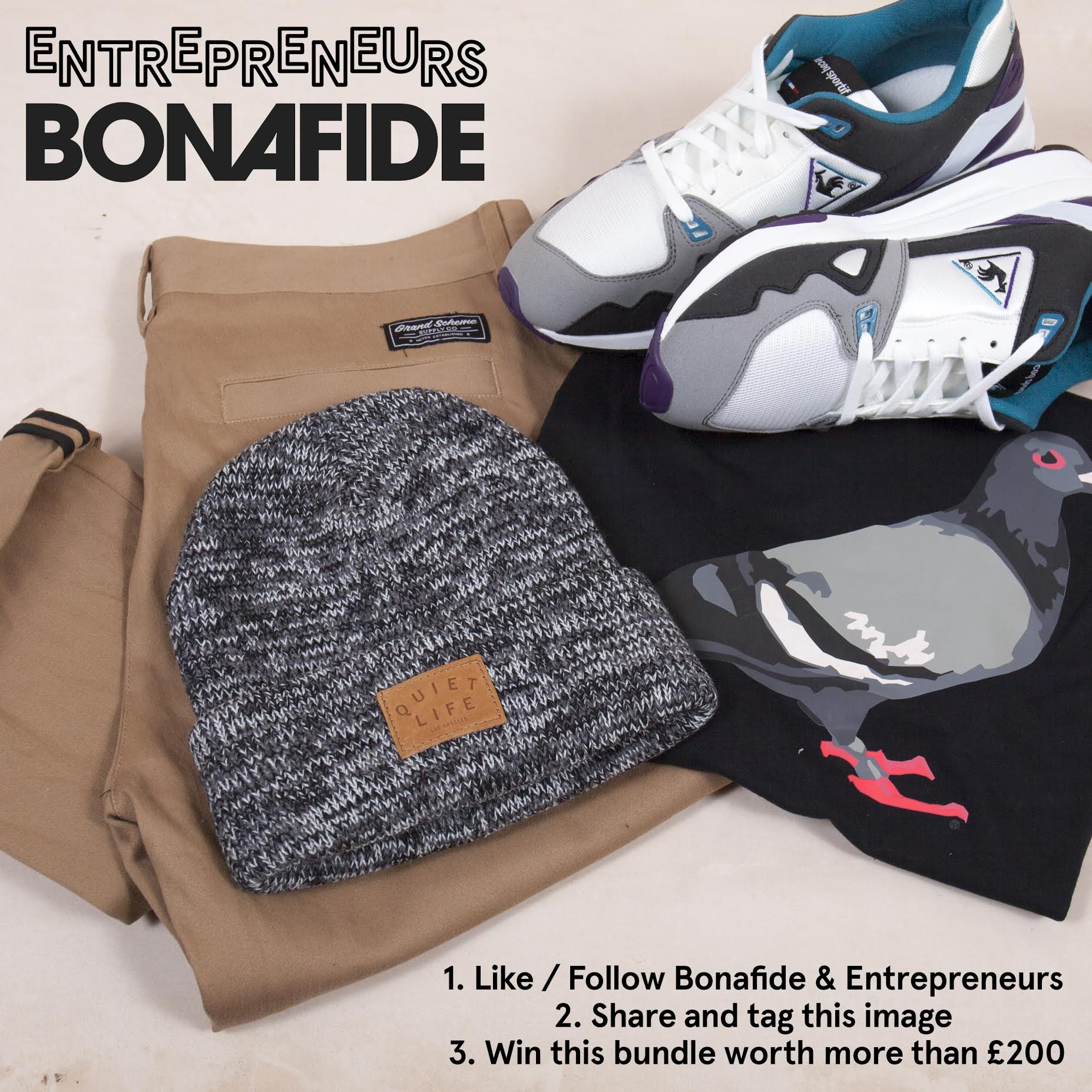 Win £200 worth of clothing from Entrepreneurs