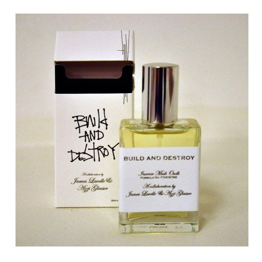 Build and Destroy Scent by Azzi Glasser & James Lavelle