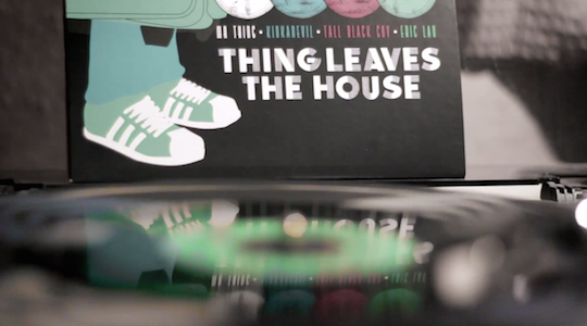 Watch: Eric Lau, Kidkanevil, Tall Black Guy and Mr Thing make beats for Record Store Day