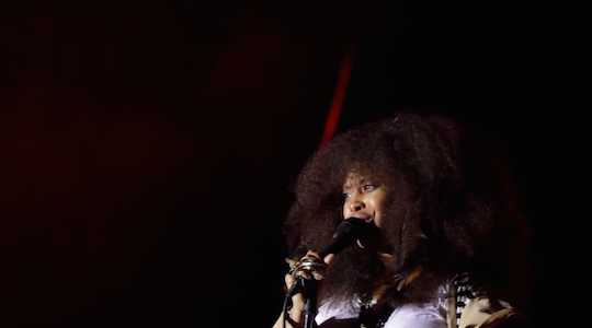 Watch: Erykah Badu and The Roots perform 20 minute hip-hop medley