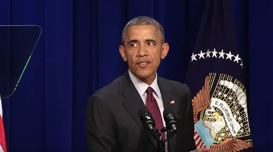 Watch President Obama rap the words to Drake and Future's track Jumpman