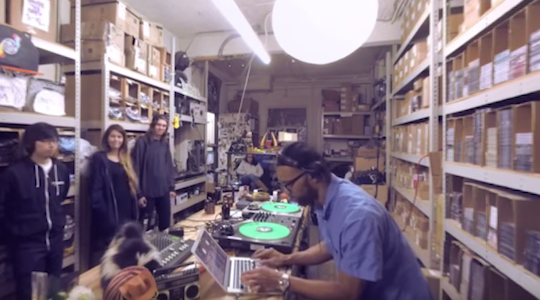 Watch Karriem Riggins and J.Rocc pay tribute to J Dilla