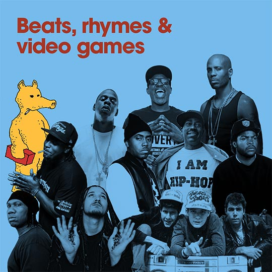 Beats, rhymes and video games