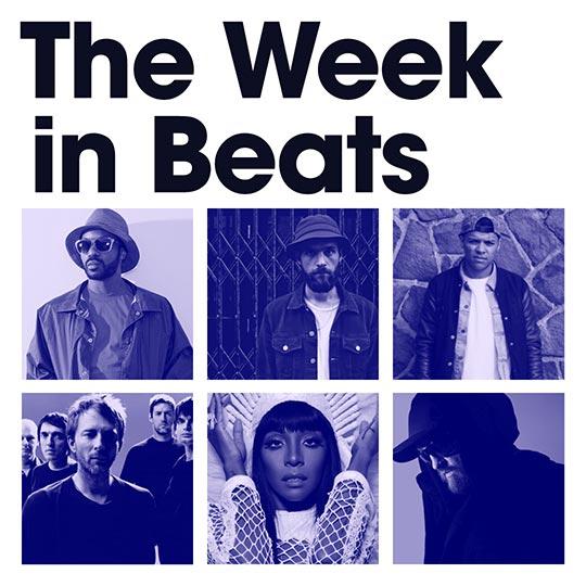 The Week In Beats: Radiohead, Jarreau Vandal, Ed Scissor and more