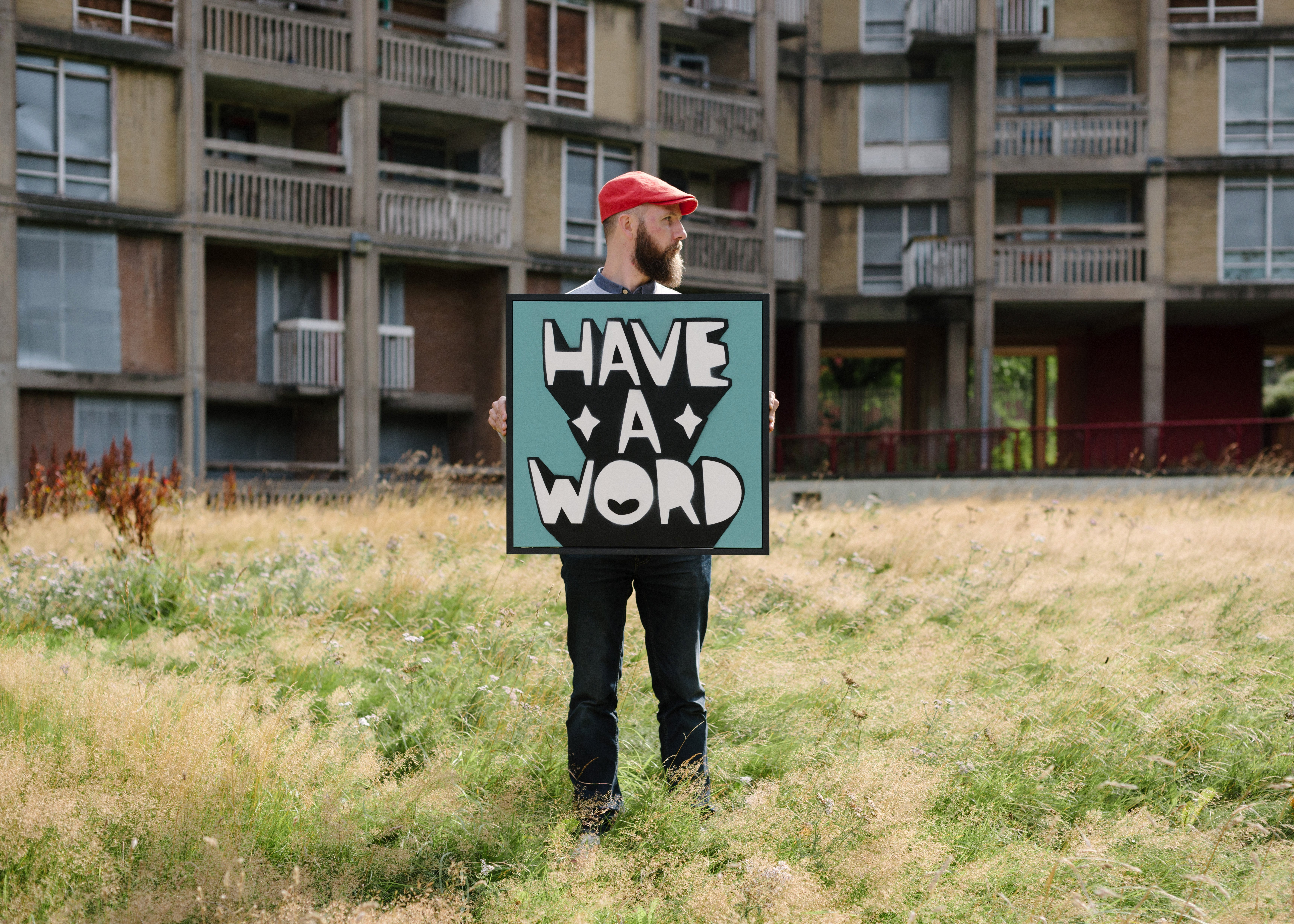 Kid Acne Unveils New Exhibition Have A Word