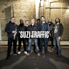 Premiere: The Haggis Horns - Suzi Traffic